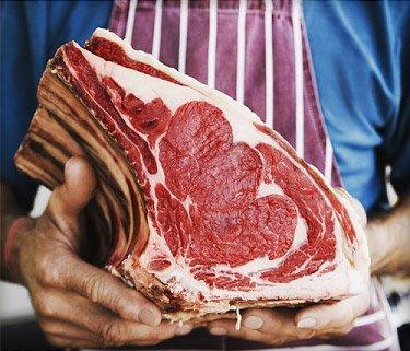 Dietas com carne vermelha