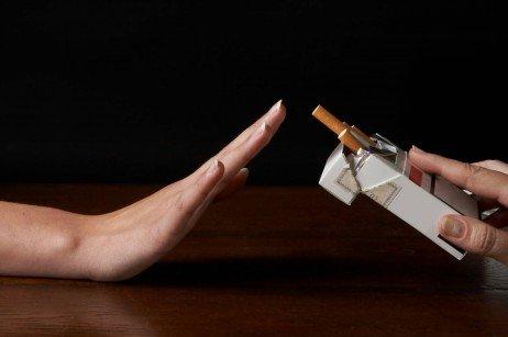 Deixar de fumar o dia de um ciclo