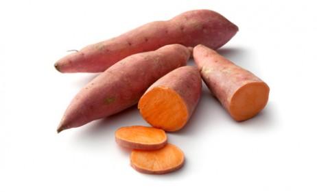 Nutrição com batata doce