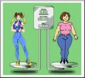 Perder o peso em 12 cm em uma cintura