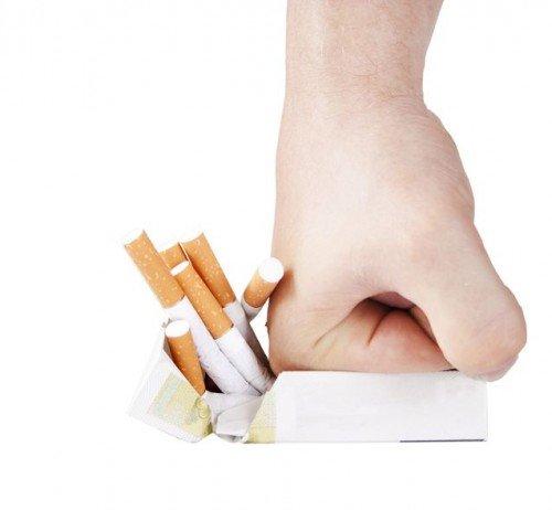 Se o ciclo por causa disso que deixou de fumar pode ser quebrado