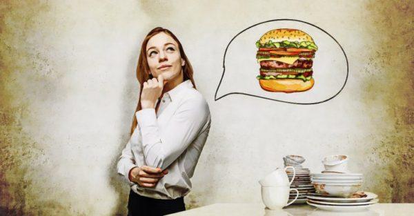Fome depois de comer